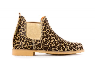 Neon Boots Leopardo