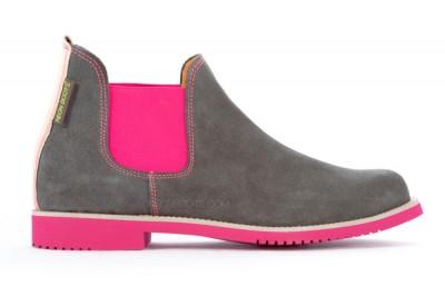Neon Boots Serraje Gris