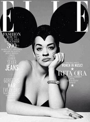 Rita Ora para Elle