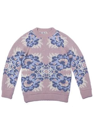 sweater cortina flowers light pink